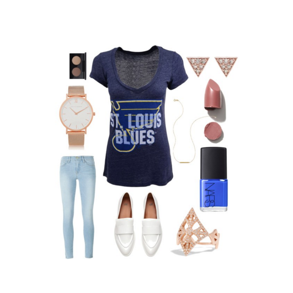 What to Wear: St. Louis Blues Playoffs | Hanger.io