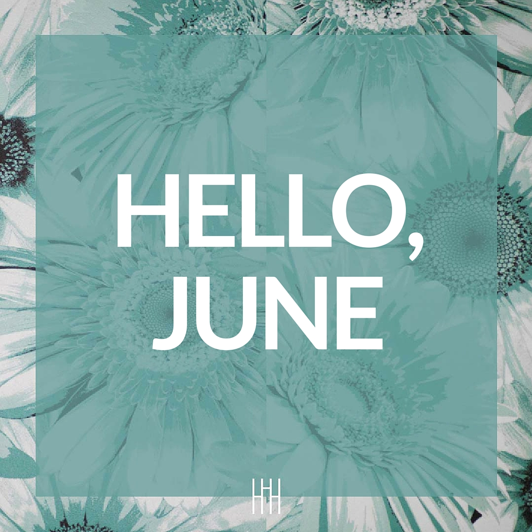 June means summertime style| Hanger.io