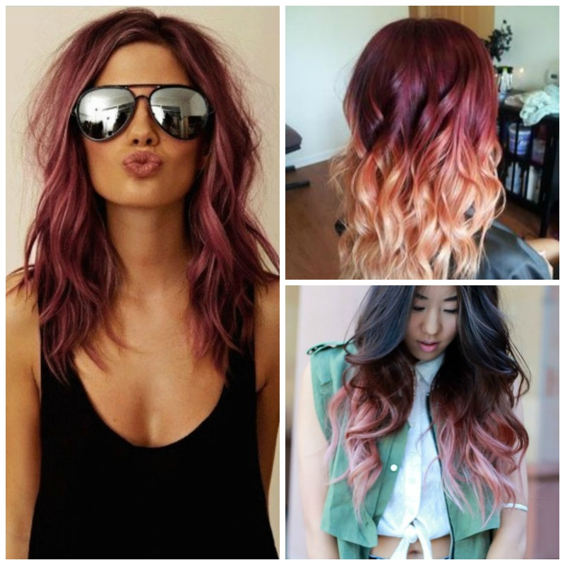 pink-hair-Collage