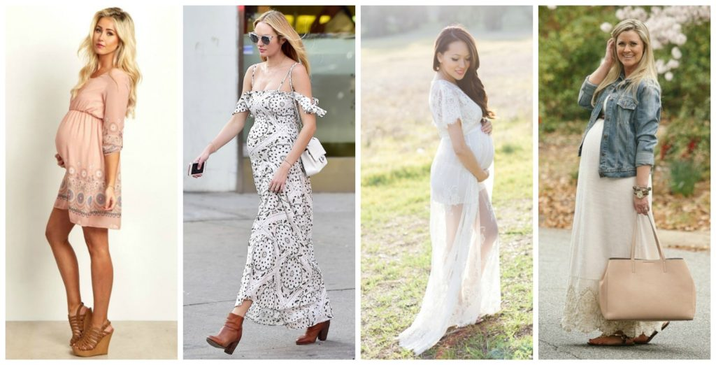Chic Mom-to-Be Style: Embrace the feminine dress | Hanger.io