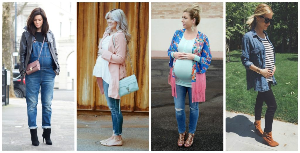 Chic Mom-to-Be Style: Casual jeans | Hanger.io