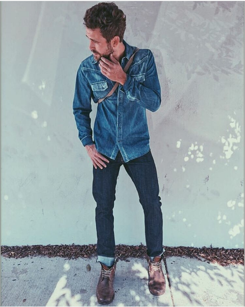 When he managed to make a Canadian tuxedo look fly.